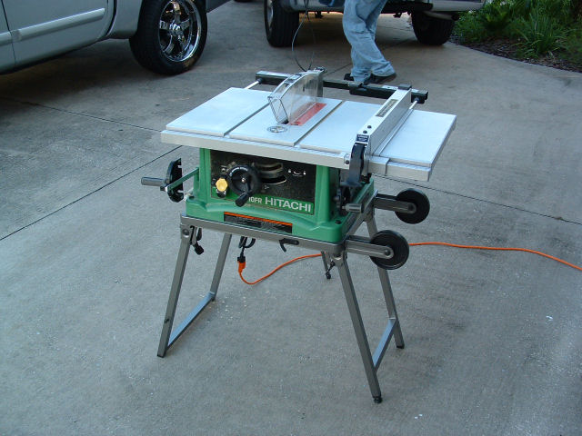 2 x 10 subs downfiring 85cu each tons of pics for 10 hitachi table saw